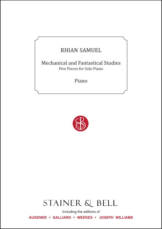 Samuel, Rhian: Mechanical And Fantastical Studies