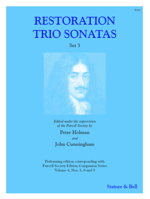 Restoration Trio Sonatas Set 3. Score And Parts