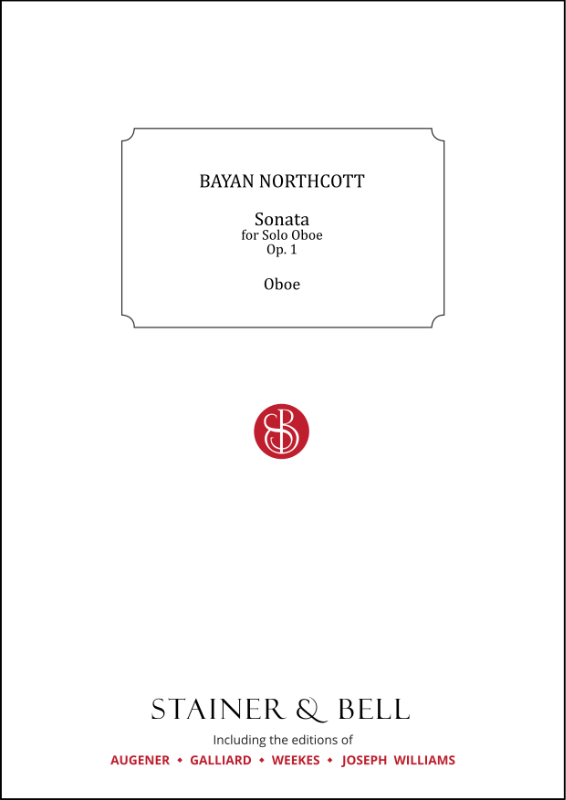 Northcott, Bayan: Sonata For Solo Oboe
