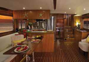 North Pacific Yachts 49 Pilothouse Interior 2