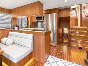 North Pacific Yachts 49 Pilothouse Interior 4