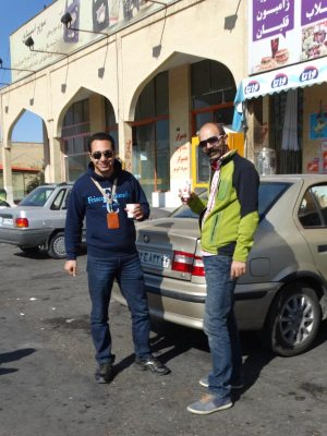 Best guide and driver ever - in Iran