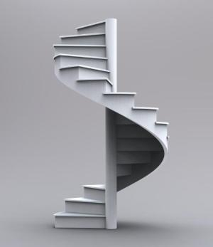 spiral-wood-stairs