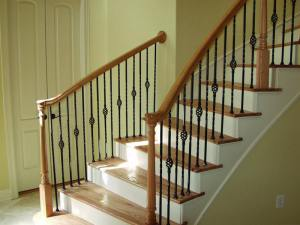 wooden-stair-railings
