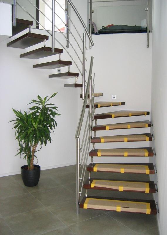 modern stairs railing design indoor