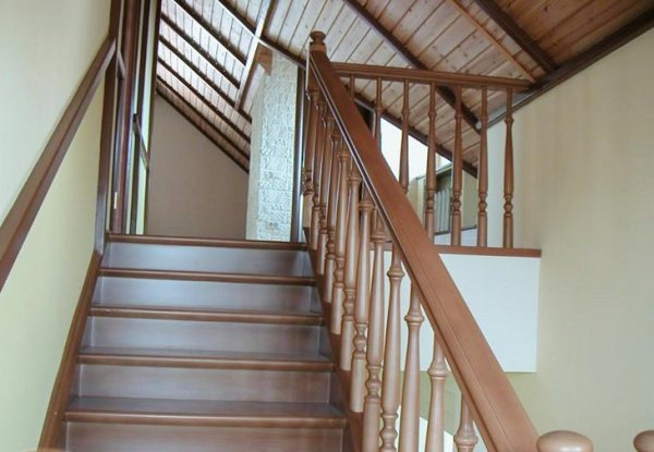 Stairwells in a private house