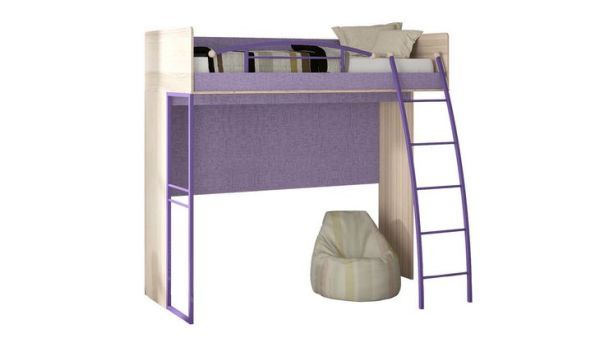 Lightweight construction with a ladder