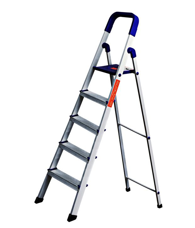 folding ladders aluminum