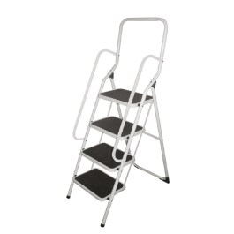 folding ladders with handrails