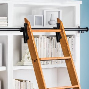 library sliding ladders