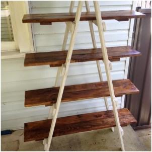 wooden ladder walmart