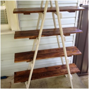 wooden ladder walmart