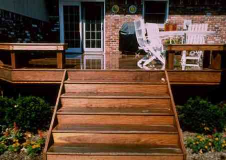 building wooden stairs