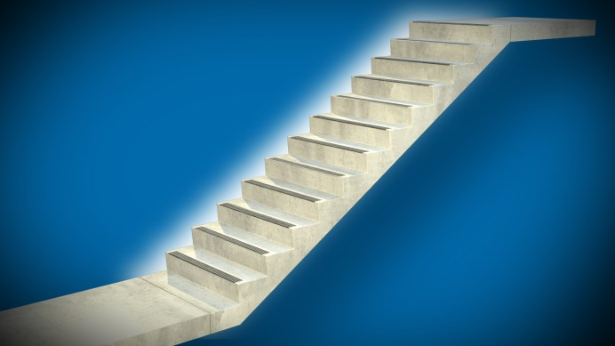 cement stairs cost