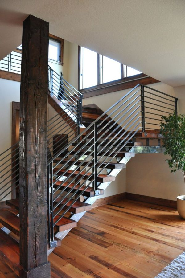 commercial metal stairs design