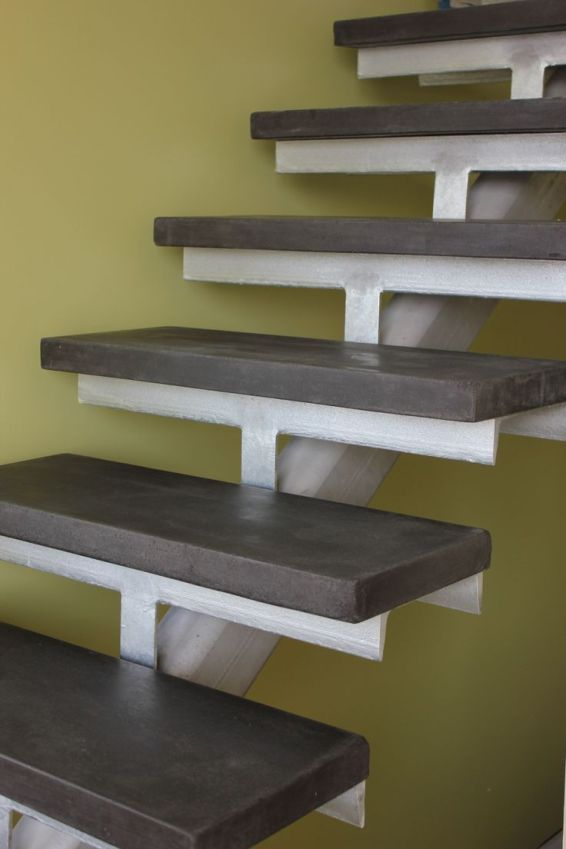concrete stair treads and risers
