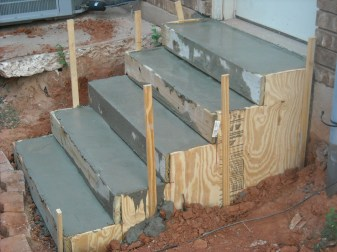 concrete stairs manufacturing
