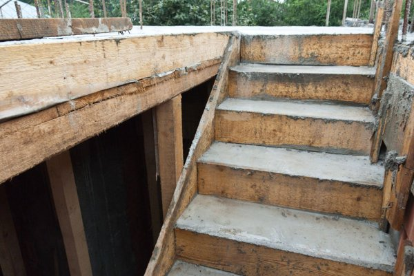 how to make formwork for concrete stairs