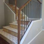 inside wood railings
