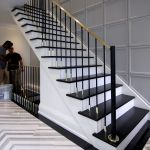 Marble Stairs In The Interior Of The House Staircase Design