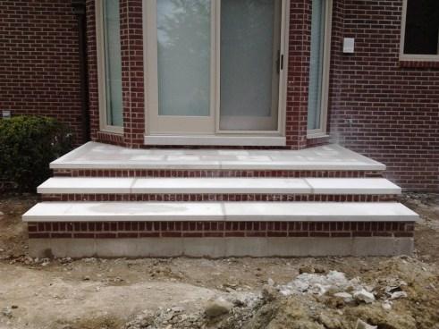 pre poured concrete steps