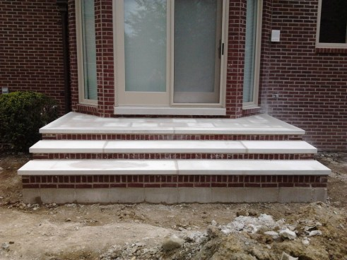 pre poured concrete steps