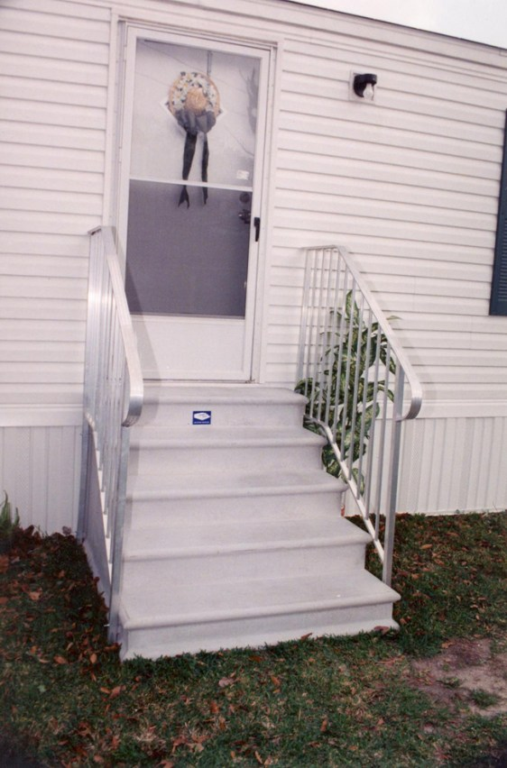 precast concrete porch steps