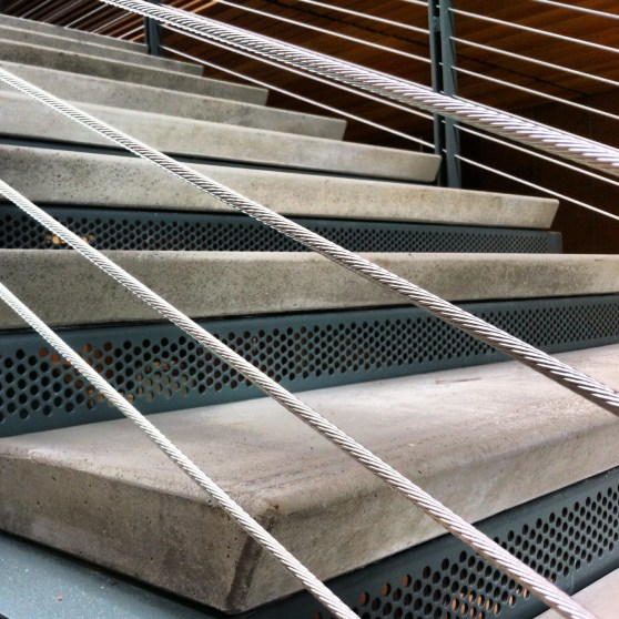 precast concrete step treads