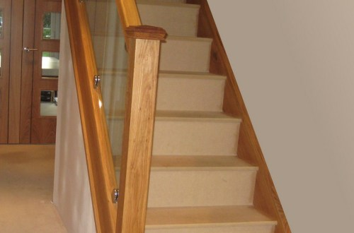 solid wood stair treads