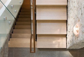 stone staircase design