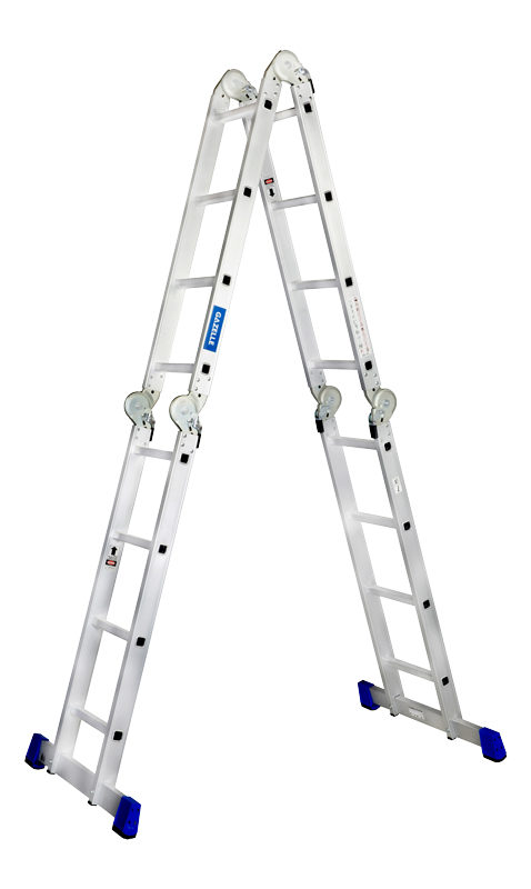 4-section aluminum ladders_1