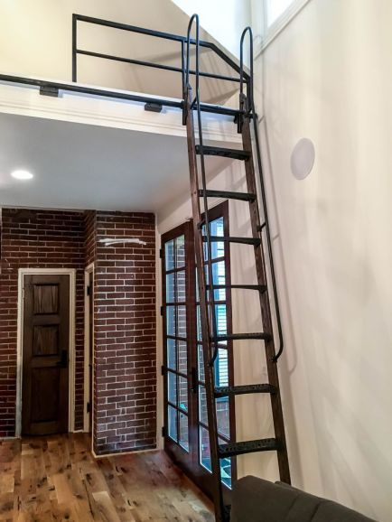 library ladders for lofts _8