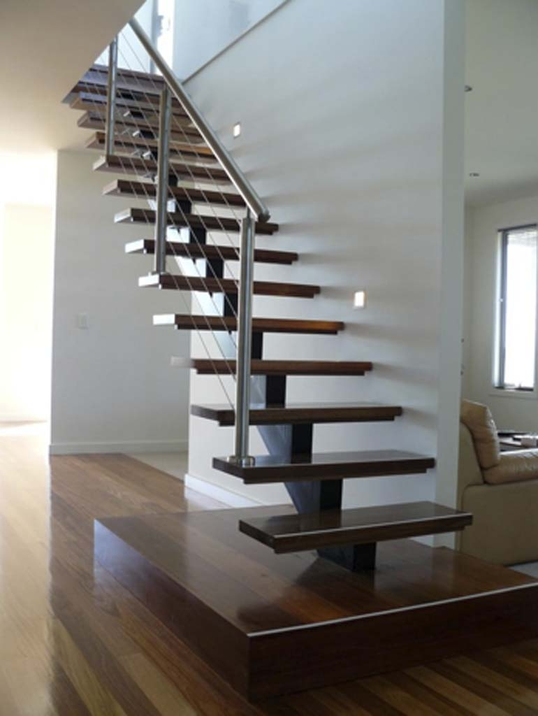 Metal Stairs In The Modern Interior – Staircase Design | Modern Steel Staircase Design | Small House | Beautiful | Handrail | Solid Steel | Gallery