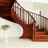 solid wood stairs baluster official website_2