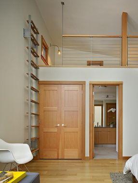 wall mounted loft ladder _26