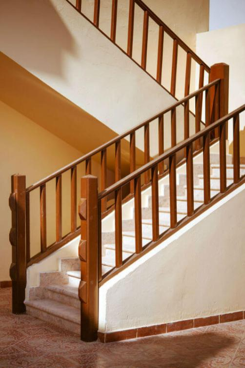 wooden stair railing images_51