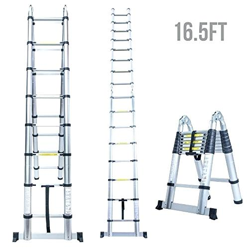 telescopic ladder home depot_20
