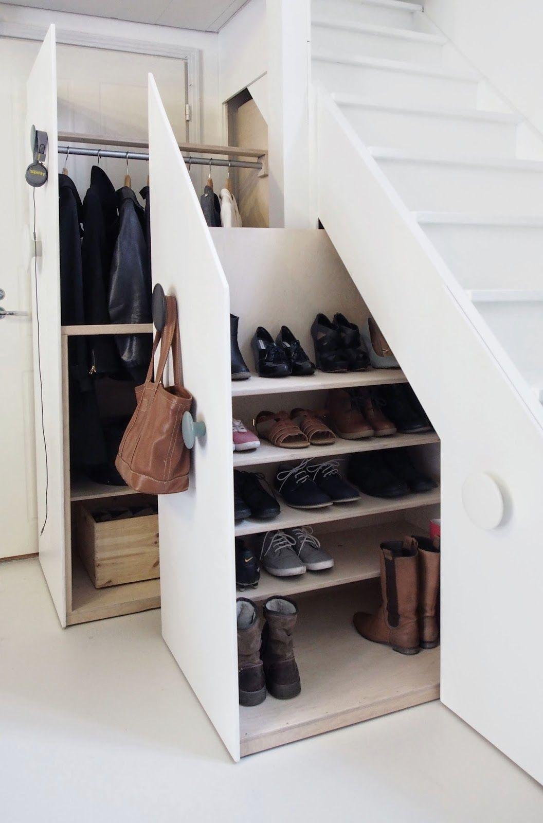 wardrobe under stairs diy_1