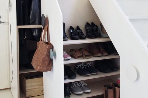 wardrobe under stairs diy_1