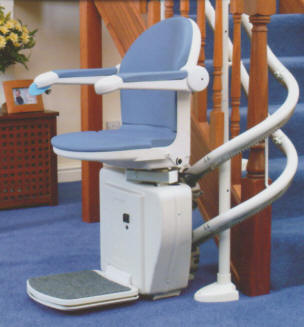 affordable straight curved stair lifts for your atlanta home