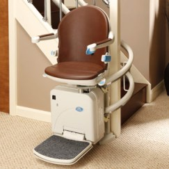 Sterling Handicare 2000 Curved Stair Lift for Metro Atlanta or North Georgia Home