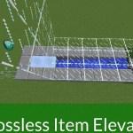 Tremendous Quick Lossless Merchandise Elevators in Minecraft 1.9