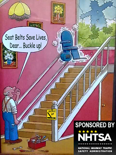 Stairlift Click It or Ticket