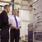 MP Visits Acorn Factory in UK