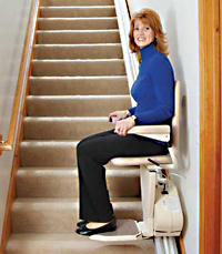 Stair Lift in action