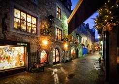 17470109 - old street in galway, kerwan