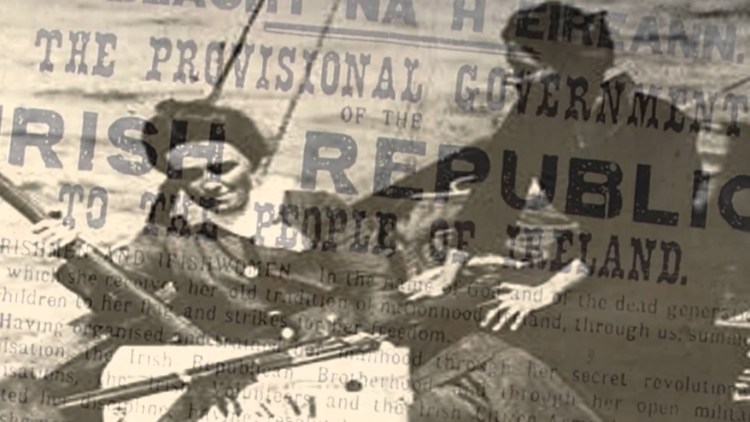 1914 – Irish Volunteers during The Howth Gun Running