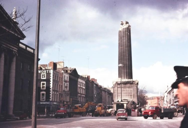 a_half-demolished_nelsons_pillar_on_oconnell_street_dublin
