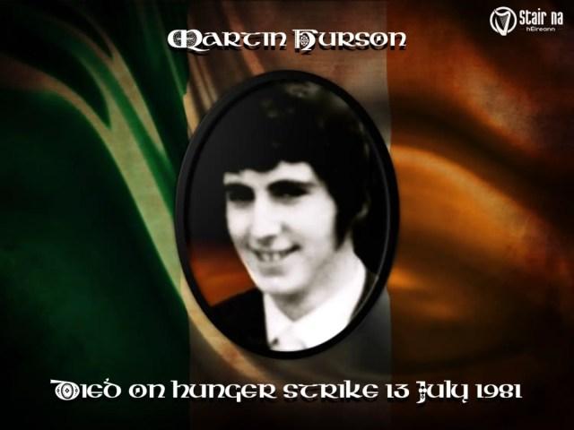 #OTD in 1981 – Martin Hurson, Irish political prisoner, dies on hunger strike.