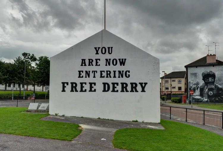 Free Derry Corner – Stair na hÉireann/History of Ireland